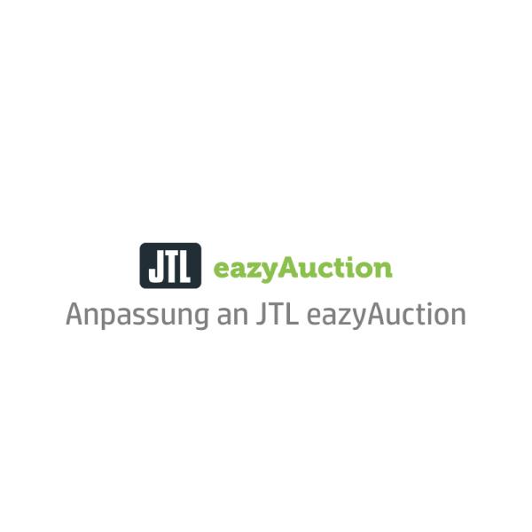 eBay Template Auktionsvorlage Anpassung an JTL eazyAuction